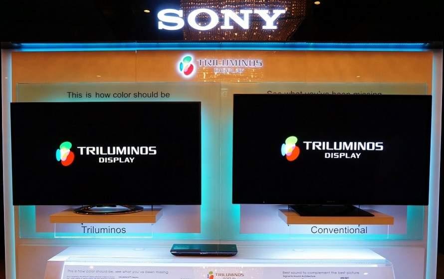 sony triluminos tv