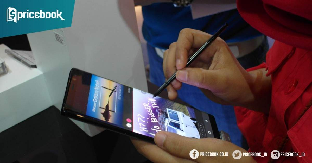 5 Kelebihan S Pen Di Samsung Galaxy Note 8 Pricebook