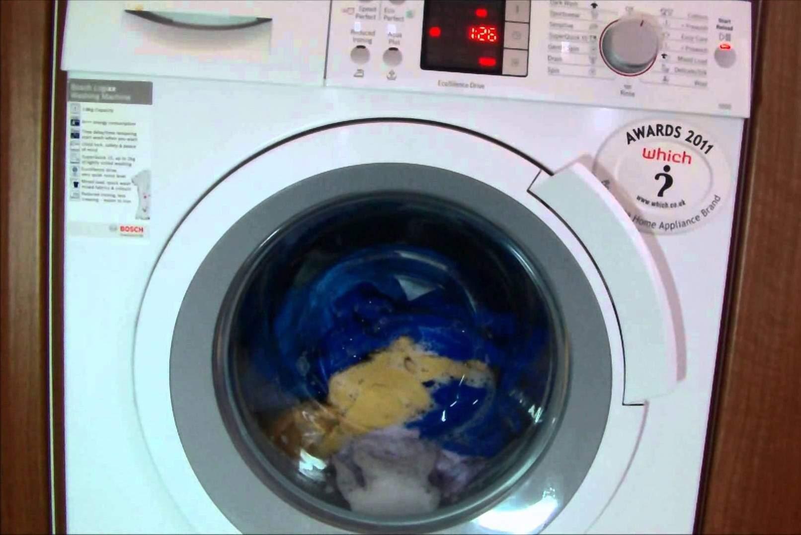 fitur quick wash di mesin cuci