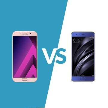 Samsung Galaxy A7 (2017) Vs Xiaomi Mi 6, Adu Hp Rp5 Jutaan
