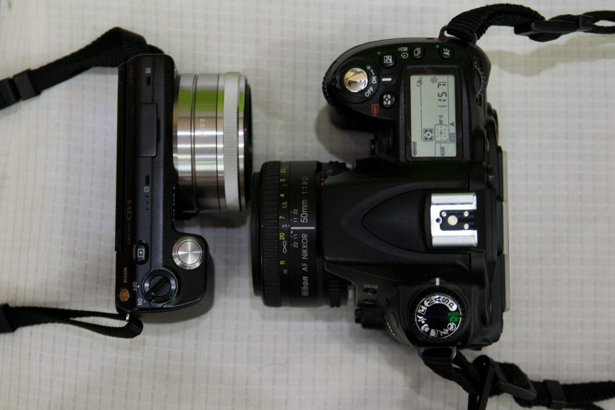 kamera mirrorless dan dslr