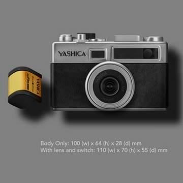 Yashica Keluarkan Kamera digiFilm Y35 dengan Cartriges Film Digital