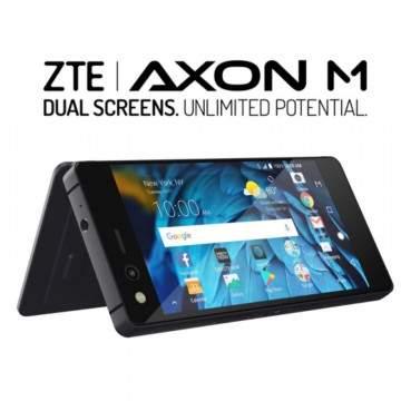 ZTE Axon M Dirilis dengan Fitur Dual Touchscreens