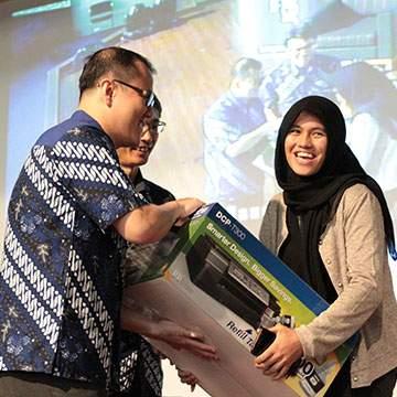 Brother Sharing Pengetahuan Teknologi Printer untuk Mahasiswa Binus