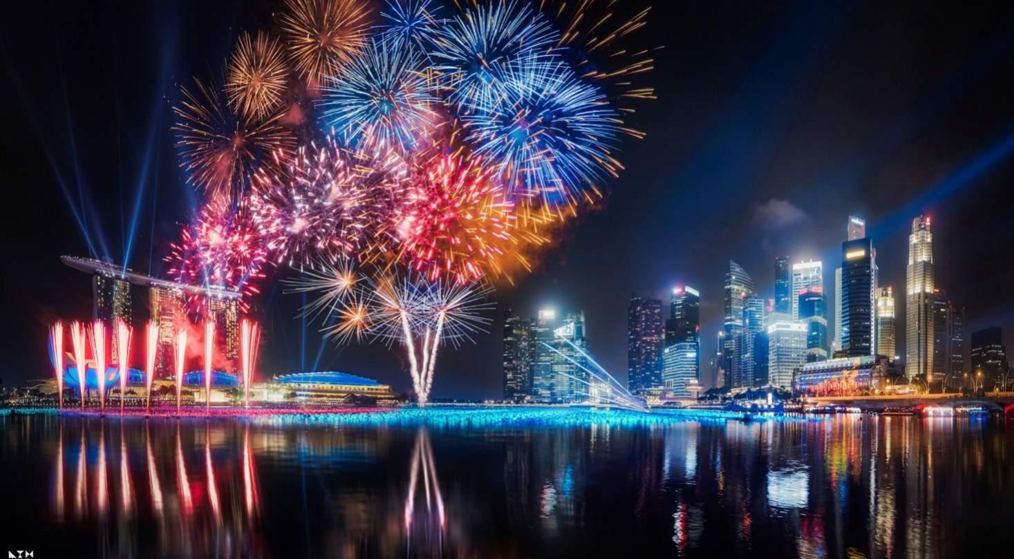 kembang api kota