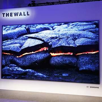 Samsung The Wall, TV Layar Lebar 146 Inci Berteknologi MicroLED