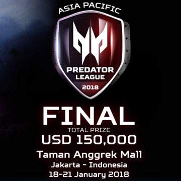 8 Tim eSport di Grand Final APAC Predator League 2018 Siap Bertanding!