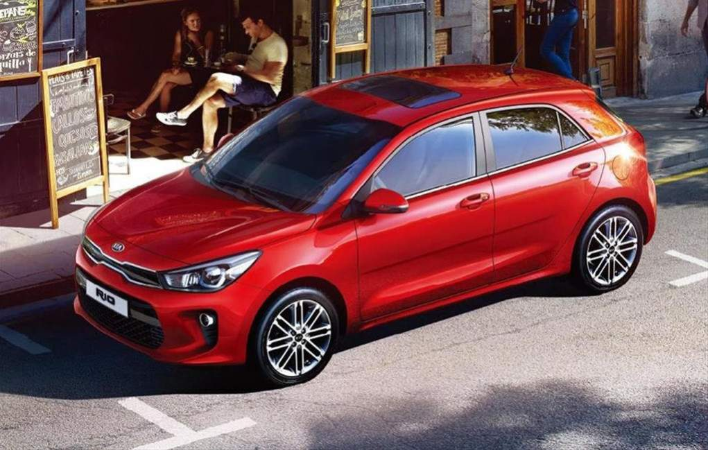 all new kia rio 5 door