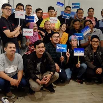 Pricebook Gelar Kongkow Bareng Blogger dan Media Bersama Luna dan Vivan