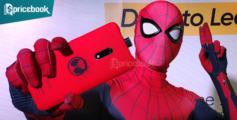 Realme X spiderman