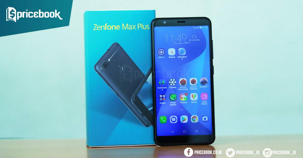 Review Asus Zenfone Max Plus M1 Hp Baterai Besar Kekinian Pricebook