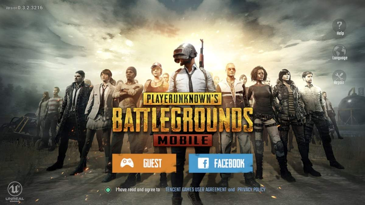 gambar game pubg mobile Game Survival Online Android Terseru