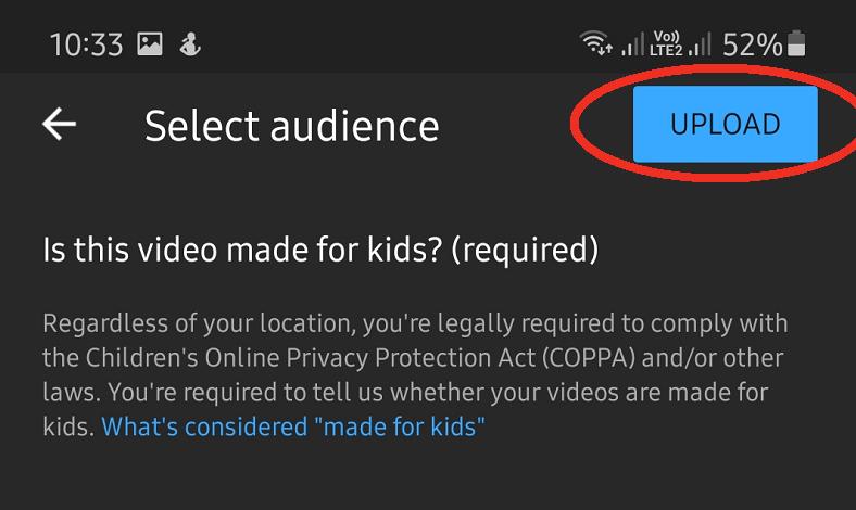 Cara Upload Video ke Youtube dari Hp