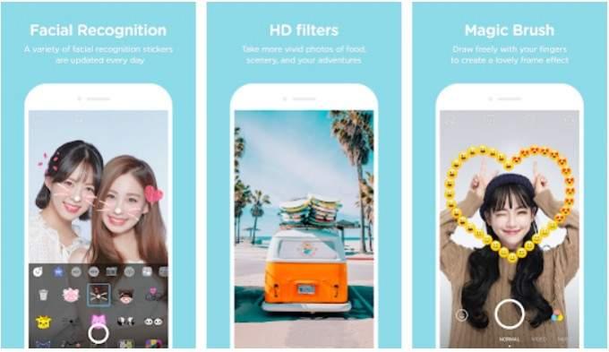SNOW - Selfie, Motion sticker