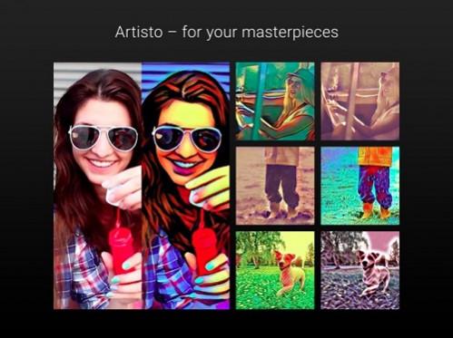 Aplikasi Edit Video Artisto