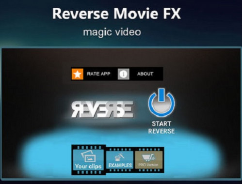 Aplikasi Edit Video Reverse Movie FX