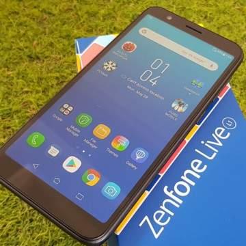 Review ASUS Zenfone Live L1, Android Sejutaan Fitur FullView Kamera Bisa Bokeh