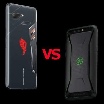 Perbedaan Spesifikasi ASUS ROG Phone vs Xiaomi Black Shark