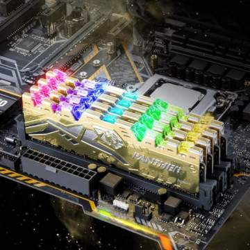 DDR4 Apacer PANTHER RAGE RGB Tampil dengan Lampu RGB