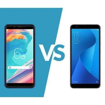 ASUS Zenfone Live L1 vs Advan i6, Duel Hp FullView Sejutaan