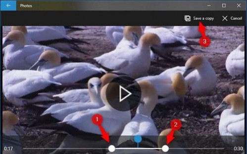Cara trim video