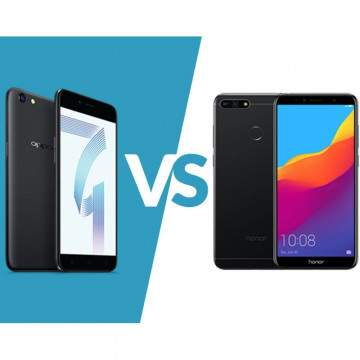 OPPO A71 (2018) vs Honor 7S, Duel Hp Entry Level Beda Gaya