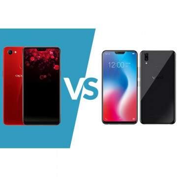 OPPO F7 vs Vivo V9 6GB, Dua Smartphone Kelas Menengah Berperforma Tinggi