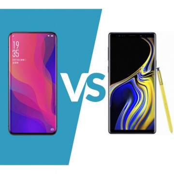 OPPO Find X vs Samsung Galaxy Note 9, Adu Spesifikasi 2 Smartphone Istimewa 2018