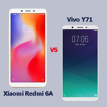 Pilih Xiaomi Redmi 6A atau Vivo Y71? Harga Hampir Setara