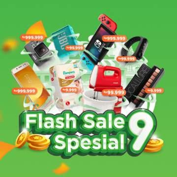 Tokopedia Ulang Tahun Ke-9, Nikmati Promo FlashSale Mulai Rp9.999