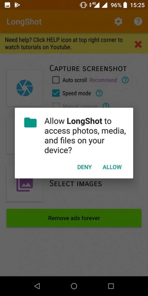 cara long screenshot