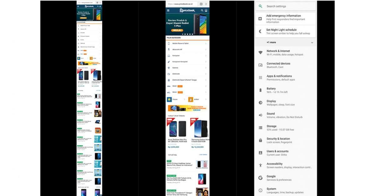 Cara Long Screenshot Di Zenfone Max Pro M1 Dan Hp Asus Lain Pricebook