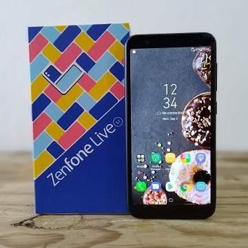 ASUS Zenfone Live L1RAM 3GB, Review Spek dan Update Harga