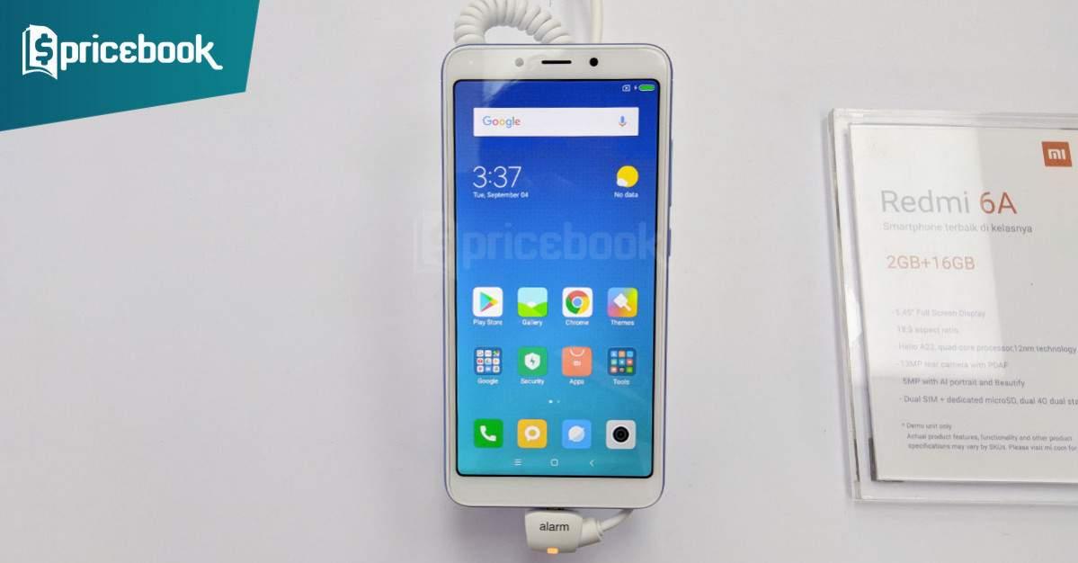 Harga Xiaomi Redmi 6a Beda Tipis Dari Redmi 5a Fitur Meningkat Pricebook