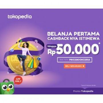 Belanja Makin Murah di Tokopedia dengan Promo Cashback Sampai Rp50.000