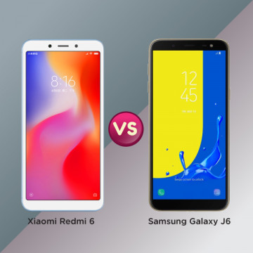 Xiaomi Redmi 6 vs Samsung Galaxy J6, Tawarkan 2 Sisi Keunggulan yang Berbeda