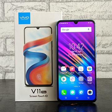 Review Vivo V11 Pro, Si Cantik dengan Fingerprint di Layar