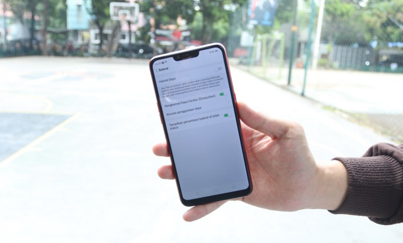 review baterai oppo a3s