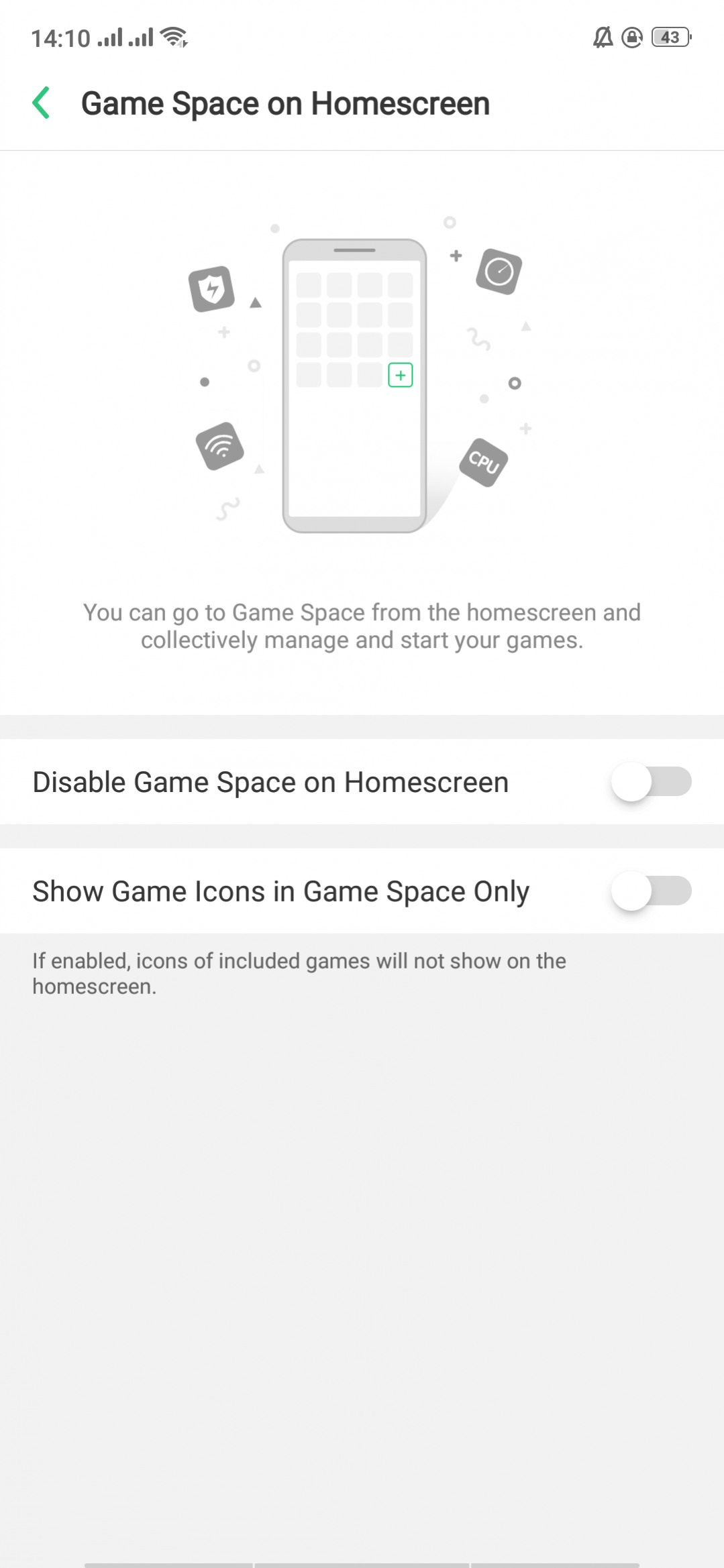game space home