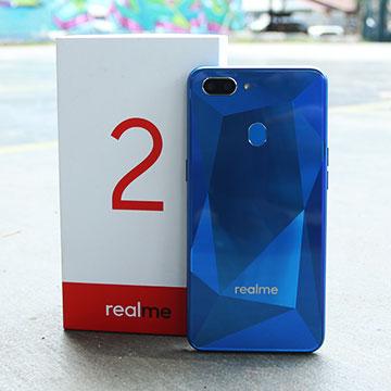 Review Realme 2: Desain Menawan dengan Efek Berlian