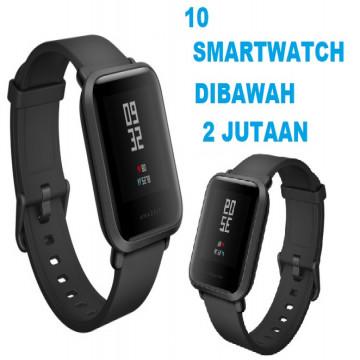 10 Smartwatch Dibawah Dengan Harga 2 Jutaan Termurah dan Terbaik