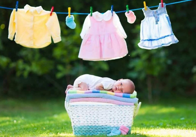 cara mencuci pakaian bayi