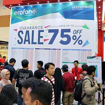 Promo di Indocomtech 2019, Cashback Hingga Diskon 75%