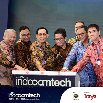Intip Indocomtech 2018 Lewat Opening Ceremony
