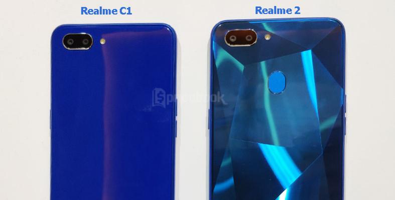 realme c1 vs realme 2