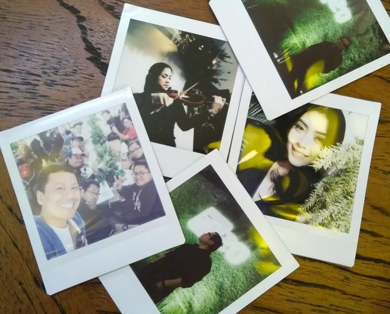 hasil gambar polaroid instax SQ20