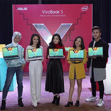 VivoBook S S430UN, Laptop ASUS Terbaru dengan Warna Menarik