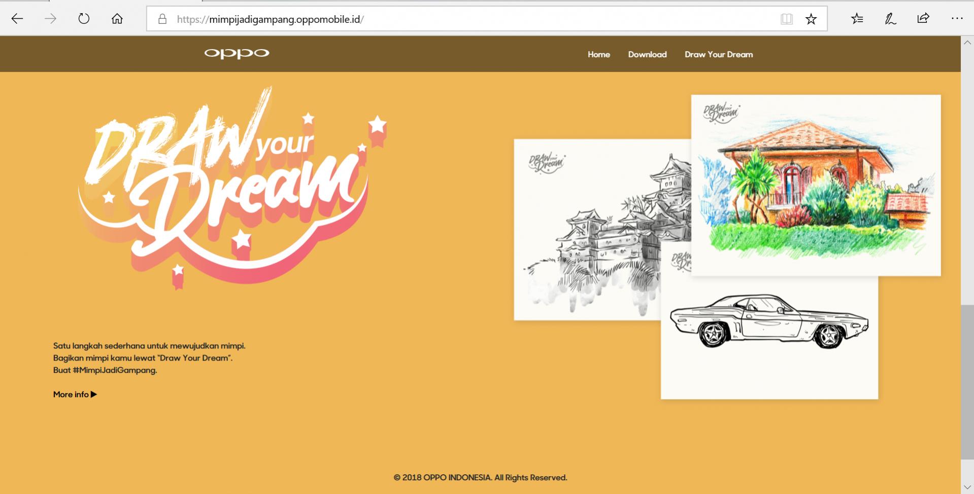 situs #MimpiJadiGampang