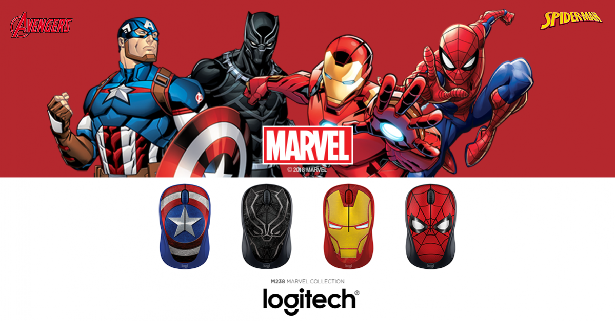 mouse wireless marvel