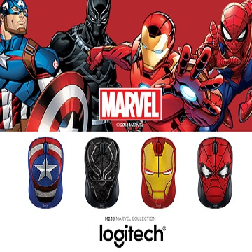 Logitech dan MARVEL Jadi Logitech M238 MARVEL Collection, Canggih!